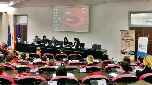 "Seminar ""EU-Politik"" in Skopje"